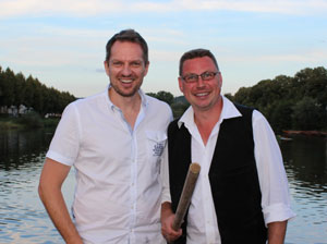 Weinfloss Team Andy Urban und Oliver Ueltzhöffer
